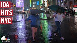 Hurricane Ida's Remnants Blast NYC, Flooding Subways & Streets