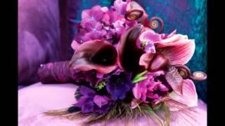 Свадьба в фиолетовом цвете.