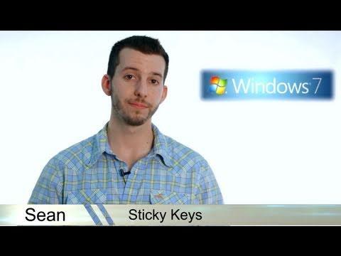 Learn Windows 7 - Sticky Keys