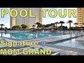 MGM Grand Signature Walkway to MGM Grand And Las Vegas ...