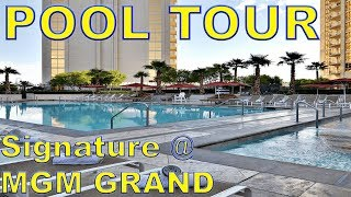 The Signature @ MGM Grand Pool Tour