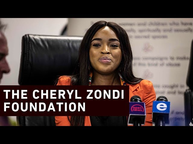 Cheryl Zondi launches foundation to support abuse victims