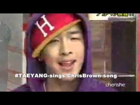 [BIGBANG] TAEYANG sings Chris Brown's Say Goodbye (in English ACAPELLA)
