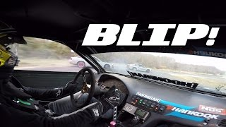 ride along with chris forsberg in a crazy tandem drift train