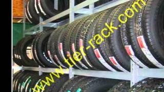 Motorcycle Tire Racks