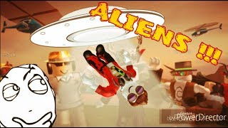 Aliens arrive at jailbreak/roblox