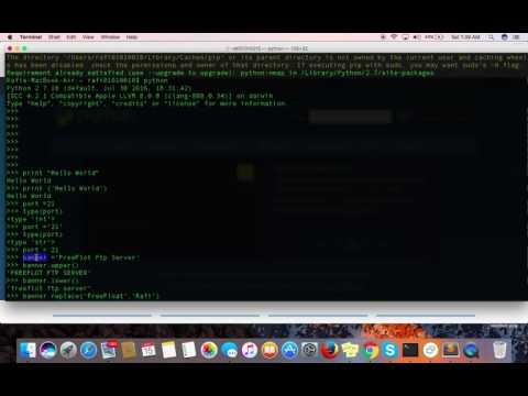 Chapter 1 | Violent Python - A Cookbook for Hackers