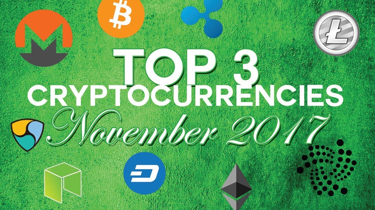 what are the top 3 cryptocurrencies