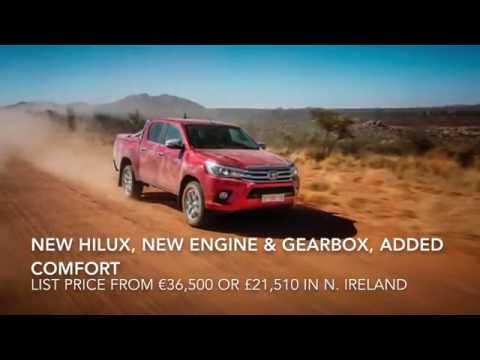 Toyota Hilux test drive in the harsh landscape of Namibia