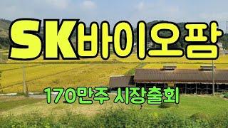 SK바이오팜 - (10월 5일)170만주 보호예수 해제/기술적 분석