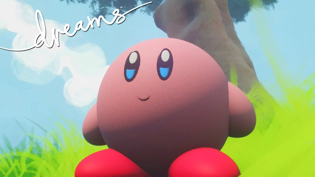 Kirby Feet Roblox Dreams Ps4 The Kirby Project Youtube