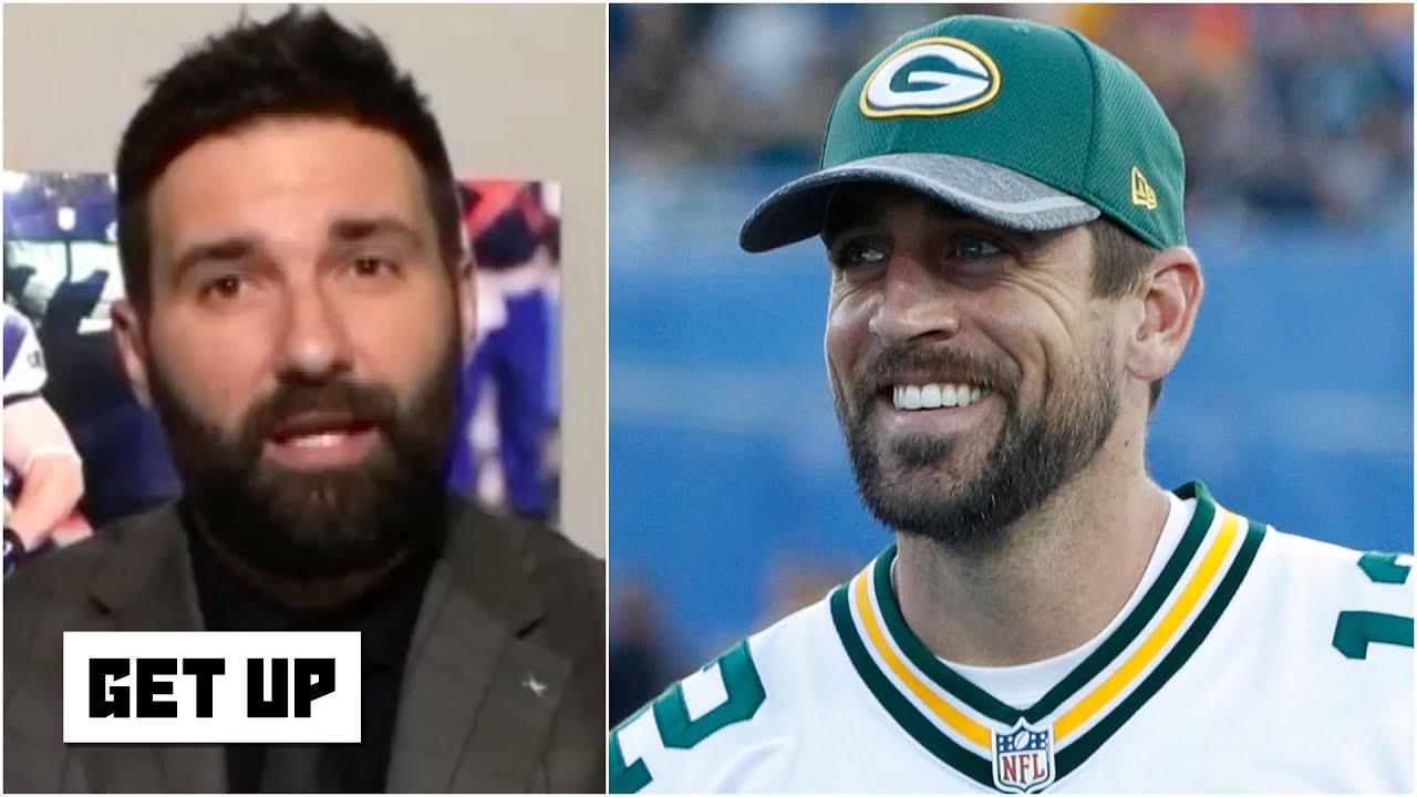 Aaron Rodgers will be more motivated since the Packers drafted Jordan Love - Rob Ninkovich | Get Up