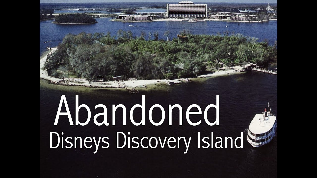 Abandoned Amusement Park Abandoned Disneys Discovery Island Original Youtube