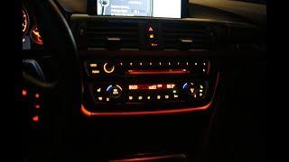 BMW F30 rénovation LCI Illuminé AC et de la Radio de bord (et de créer des harnais de câblage)