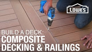 How To Build A Deck   Composite Decking & Railings  3 Of 5