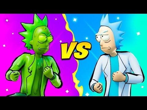 TOXIC RICK vs RICK SANCHEZ