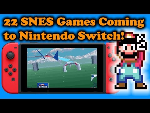 22 SNES Games Coming to Switch Online Service, Plus 2 More Platforms