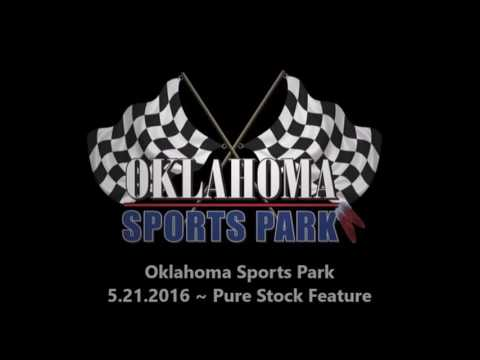 Pure Stock at Oklahoma Sports Park 5-21-16 Ada, OK.