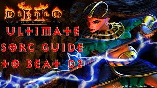 Diablo 2 Resurrected Begİnner Sorceress Guide To Beating Normal Act 1 To Hell Act 5