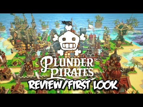 Plunder Pirates - First Look/Review Android Worldwide Release! Plunder Pirates Gameplay!