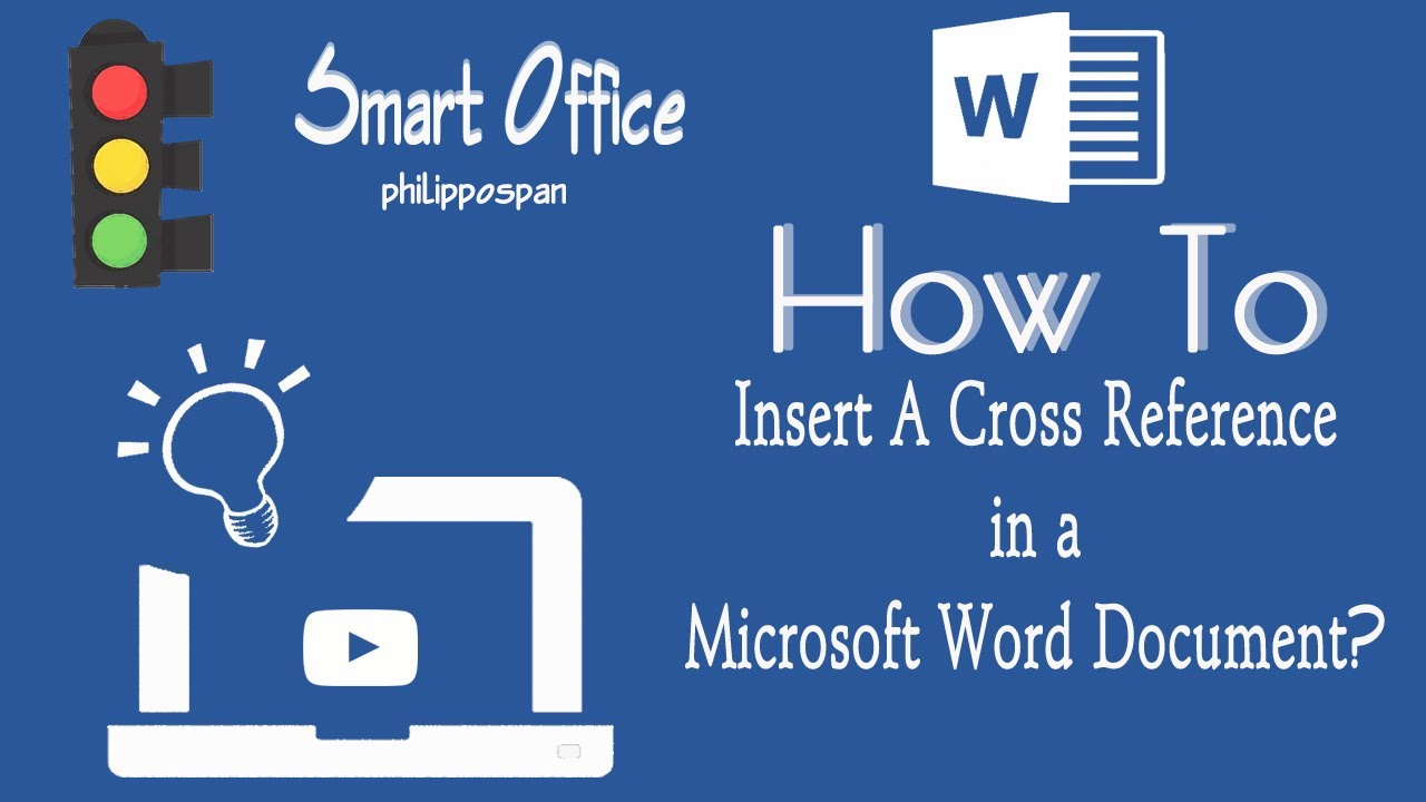 how to use cross reference in word