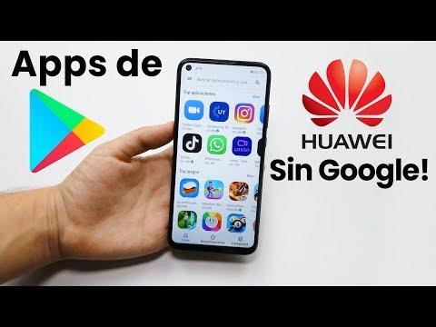 Como instalar Apps de Google Play SIN servicios de Google 😎 + situación de Huawei 2020