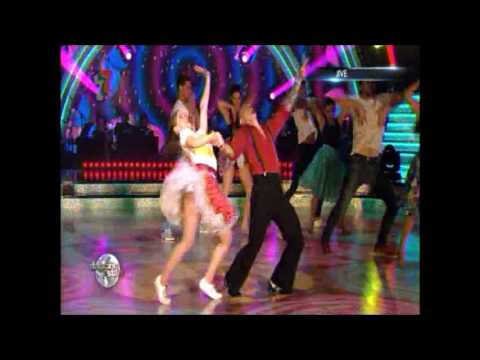 LUCIA JIMENEZ Y DANIEL VARGAS CHEF. JIVE. GRAN FINAL DANCING WITH THE STARS COSTA RICA 2016