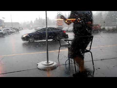 Hecka stormy today in Longview