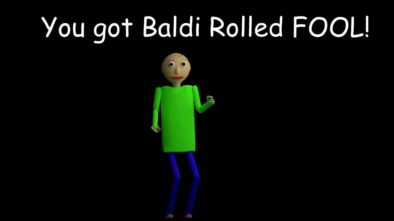 Baldi Roll Full Song - Mod Menu April Fools Prank - YouTube