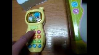 Видеообзор детская игрушка - телефон Tongde (kidtoy.in.ua)(Tongde Телефон, муз (рус), свет, на батарейке, в коробке Длина: 19.5 см. Ширина: 12.5 см. Высота: 5.0 см. Заказать: https://vk.com..., 2014-11-26T19:40:05.000Z)