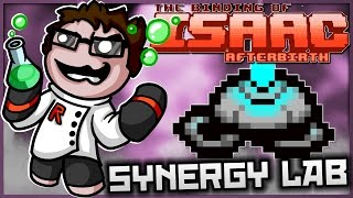 The Binding of Isaac: Afterbirth - Synergy Lab: ULTIMATE TRACTOR BEAM! (DON'T MISS THIS ONE)