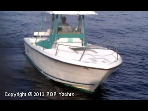 SOLD Used 1993 Pursuit 2555 Forward Cuddy In