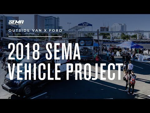 SEMA | Outside Van x Ford Transit Extended Van Conversion Tour