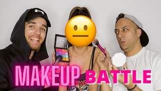 MAKEUP BATTLE - upropastili me 😣