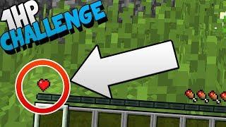 1 HP CHALLENGE SU MINECRAFT!