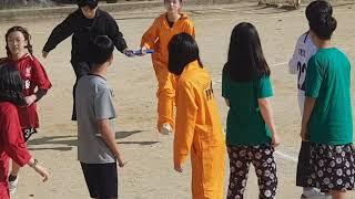 2019 불당중 2학년 체육대회 장애물 달리기(2인 3…