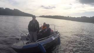 Dragon Team Ireland World Championships Boat Fishing with Lures 2015, Estonia 2015