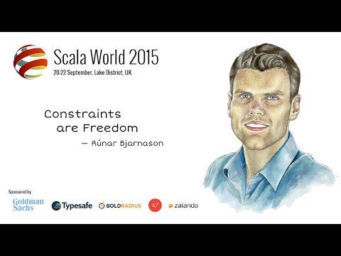 Constraints Liberate, Liberties Constrain — Runar Bjarnason