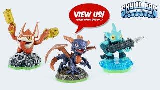 Skylanders Spyro's Adventure All Toy Figures unboxed
