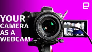 How to use your DSLR or mirrorless camera as a Zoom webcam #athome