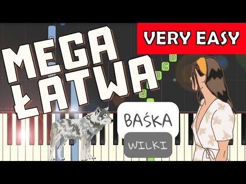 🎹 Baśka (Wilki) - Piano Tutorial (MEGA ŁATWA wersja) 🎹