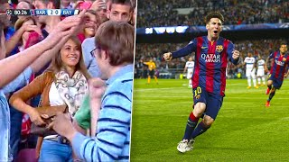 The Day Lionel Messi Made Antonella Rocuzzo Happy