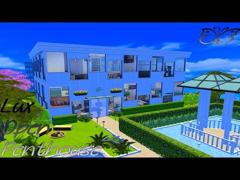 Lux Open Penthouse // The Sims 4: Speed Build #2 | 💕 FabulousPearl 💕