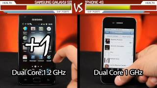 Apple iPhone 4S vs. Samsung Galaxy SII
