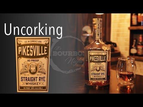 Uncorking Pikesville Straight Rye