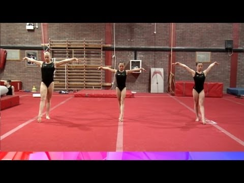 Developing the Illusion Turn - gymnastics