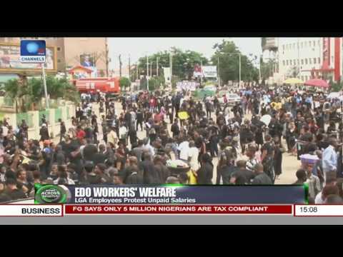 Edo LGA Employees Protest Unpaid Salaries