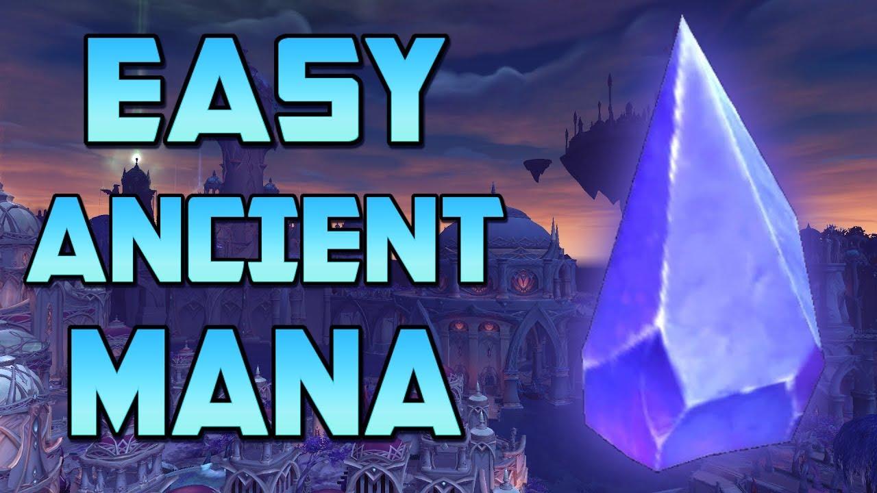 Easy Ancient Mana Farming Legion 7 3 5 Youtube