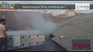 Elektrostatik filtre Azerbaycan Video