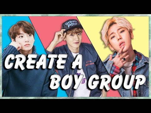 Create Your Own Kpop Boy Group (KPop Game)